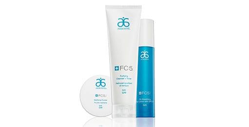 Arbonne Fresh skin facial FC5